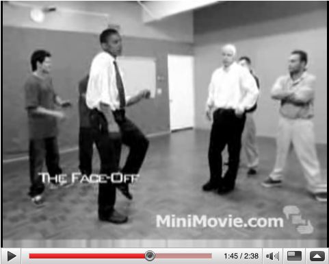 Obama and McCain Dance-off (movie still)